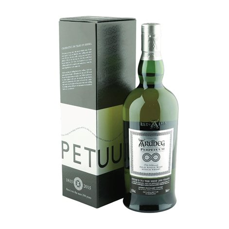 Ardbeg, Perpetuum Limited Edition, Single Islay Malt Whisky, 47,4%, 70cl - slikforvoksne.dk