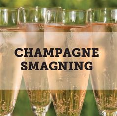 Champagnesmagning for 10 pers.