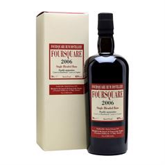 Foursquare 2006, Single Blended Rum, 62%, 70cl