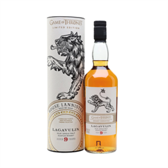 The Game of Thrones - House Lannister, Lagavulin 9 Year Old, 46%, 70cl