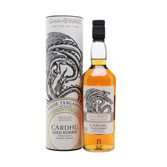 FORUDBESTILLING - The Game of Thrones - House Targaryen, Cardu Gold Reserve, 40%, 70cl