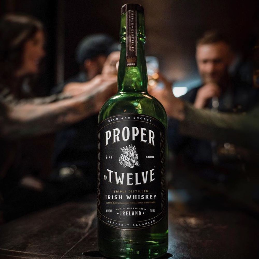 Proper No Twelve - Blended Irish Whiskey, 40%, 70cl
