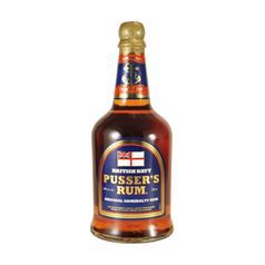 "Pusser's Navy Rum - Original Admiralty ""Blue Label"" Rum, 40%, 70cl"