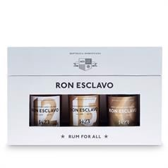 1423 World Class Spirits - Ron Esclavo Mini Set, 3 x 5cl - slikforvoksne.dk