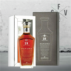 Rum Nation - Panama Decanter 21 Years Old, 40%, 70cl - slikforvoksne.dk