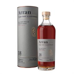 The Arran Malt - 18 Years Old, Single Malt Whisky, 46%, 70cl - slikforvoksne.dk