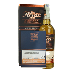 The Arran Malt Private Cask - 20 Years Old Limited Edition - slikforvoksne.dk