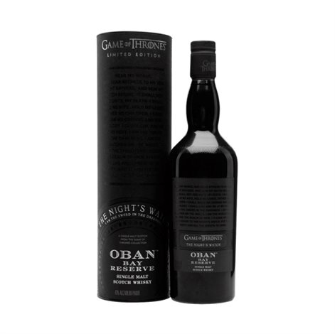 The Game of Thrones - The Night\'s Watch, Oban Bay Reserve, 48%, 70cl